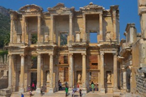 Ephesus library in Turkey