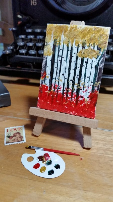 Pint-sized Painting and Tools
