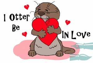 I Otter Be In Love crop (640x439)