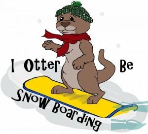 I Otter Be Snow Boarding T alt (640x580)_bak