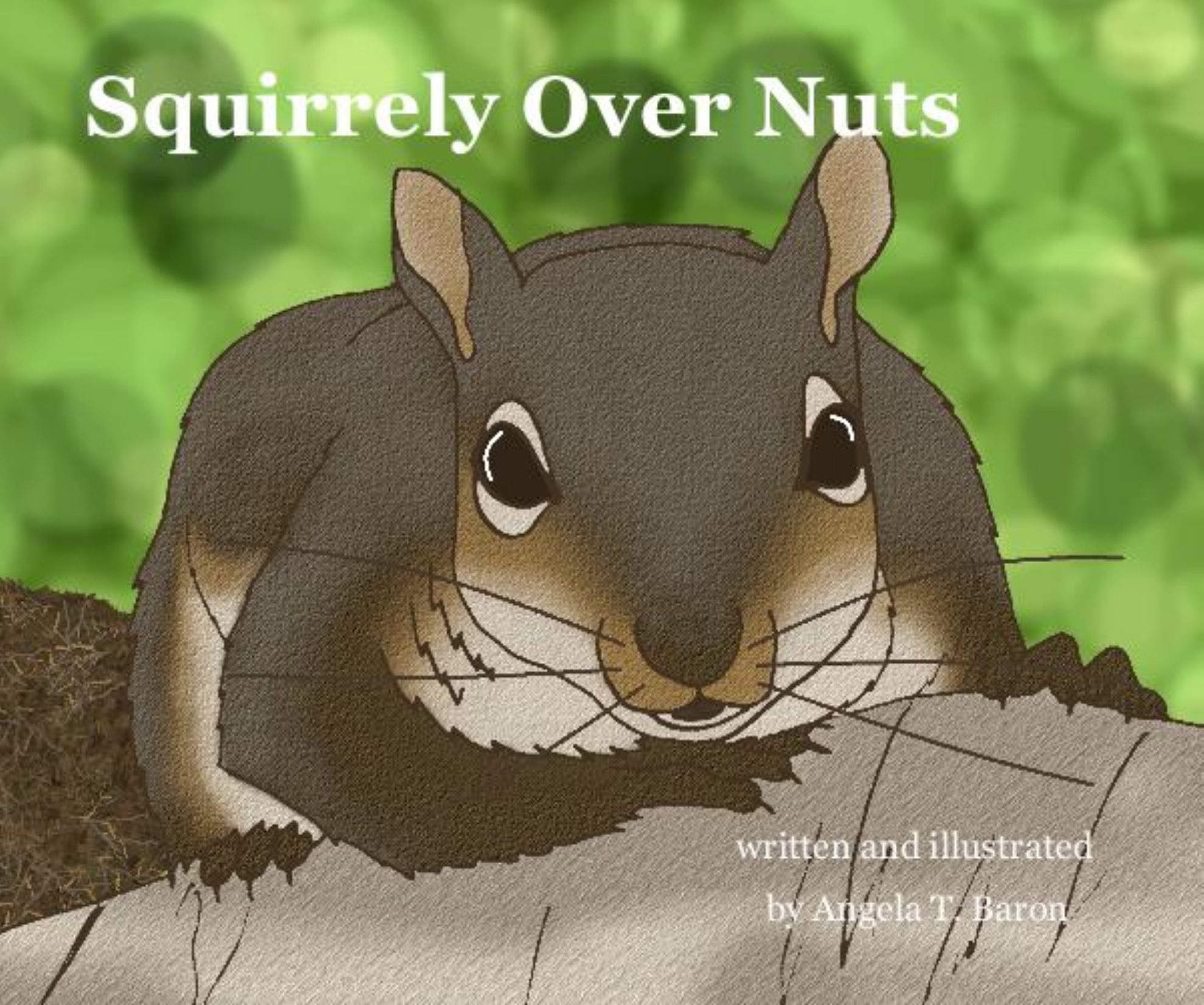 Squirrely Over Nuts Book Cover