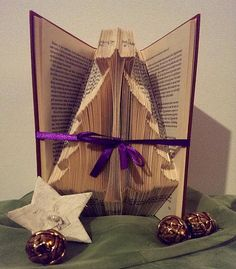 Tree book carving