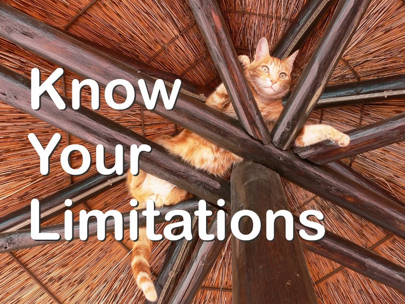 Fortune Cookie Friday: Know Your Limitations