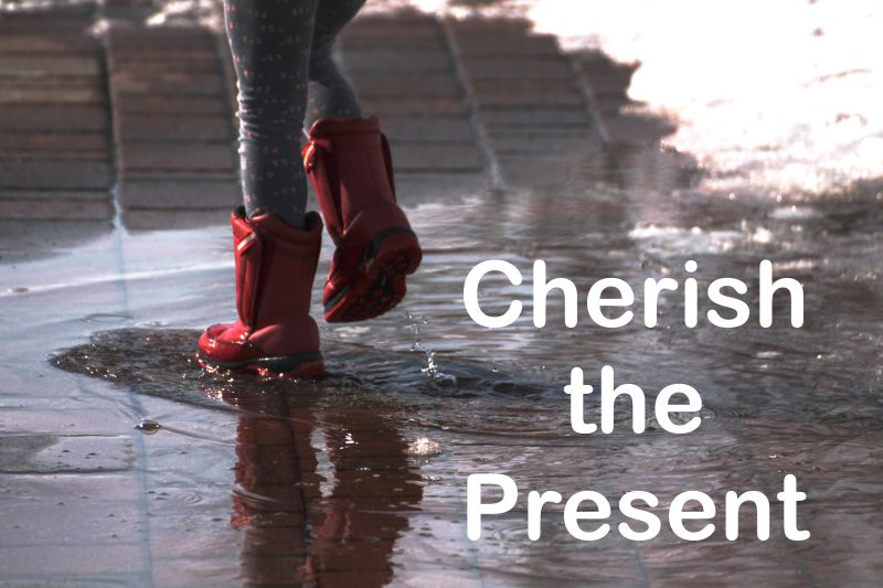 Fortune Cookie Friday: Cherish the Present