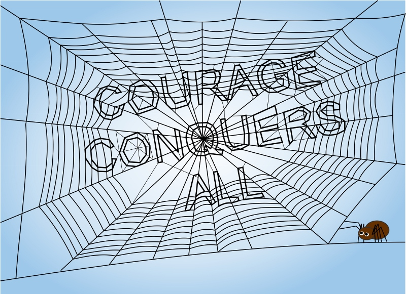 Fortune Cookie Friday: Courage Conquers All