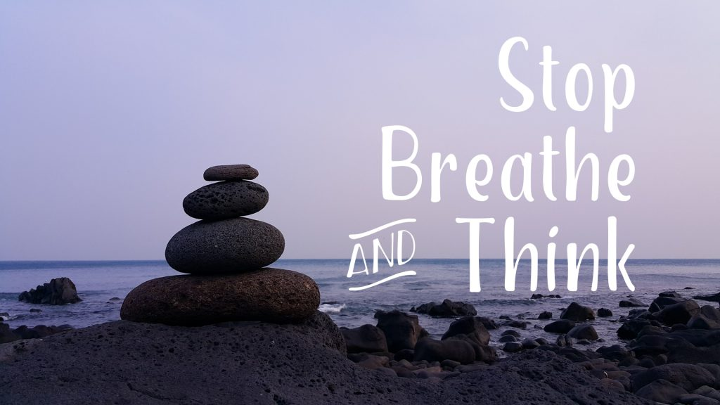 Fortune Cookie Friday: Stop, Breathe & Think