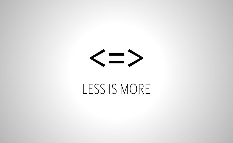 Fortune Cookie Friday: Less Is More