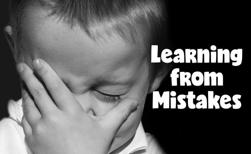 Fortune Cookie Friday: Learning from Mistakes
