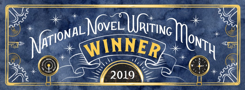 NaNoWriMo 2019: Winning Writer