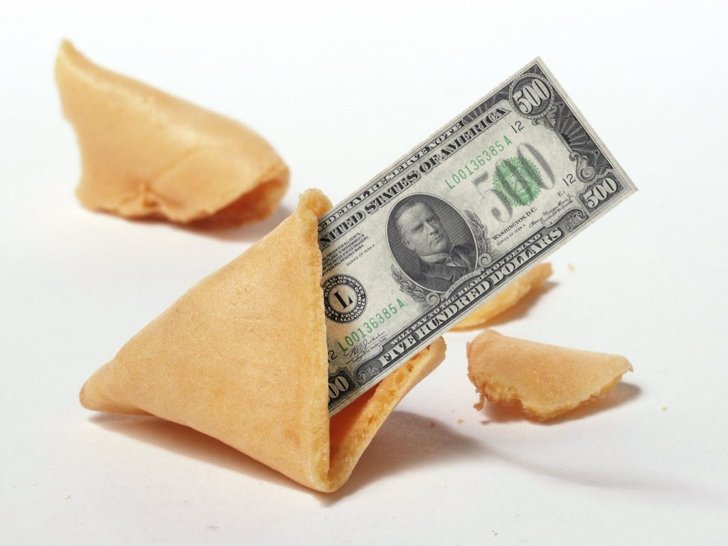 Fortune Cookie Friday: Fortune 500 Cookie?